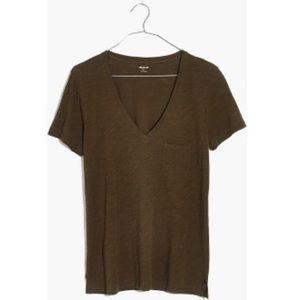 Madewell Whisper Cotton V-neck T